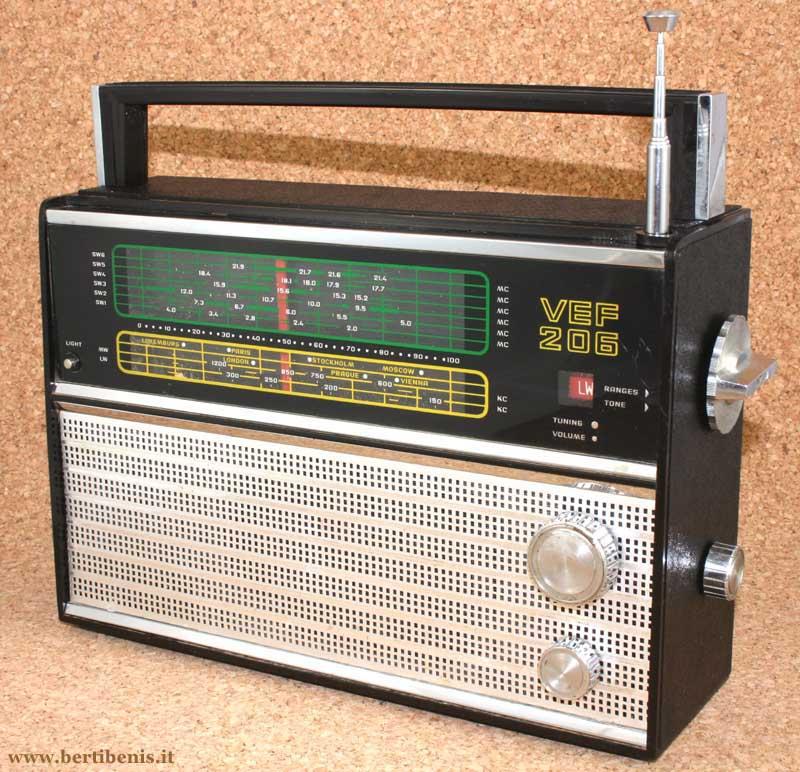 Radio A Transistor Vef 206 2