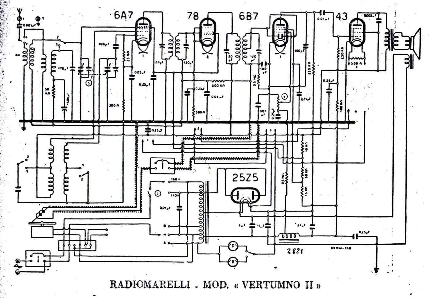 radiomarelli vertumno ii
